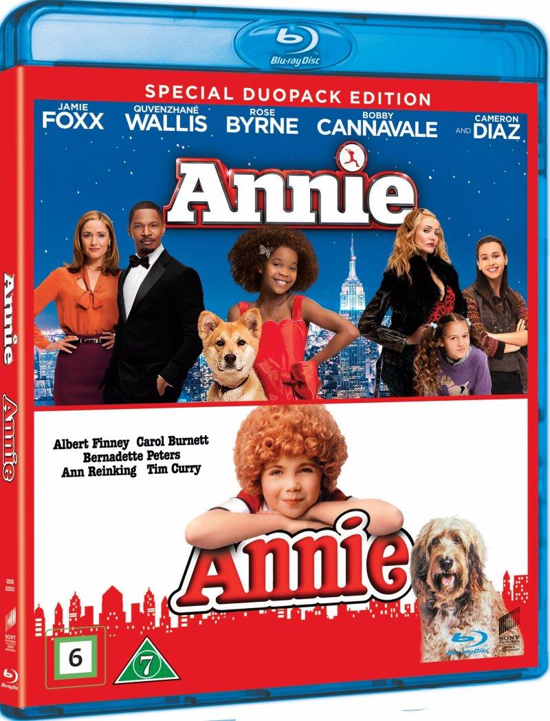 Image of   Annie - 1982 // Annie - 2014 - Blu-Ray
