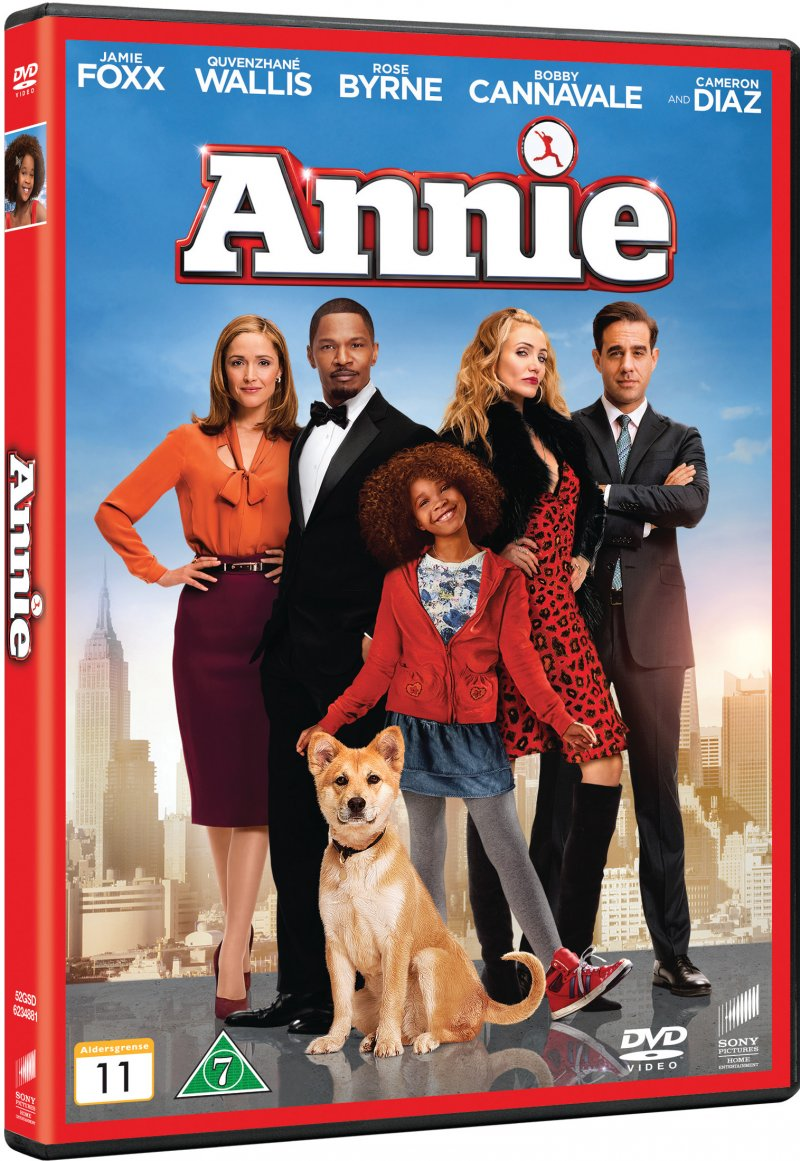 Image of   Annie - 2014 - DVD - Film