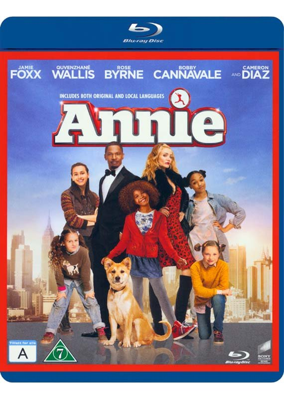 Image of   Annie - 2014 - Blu-Ray