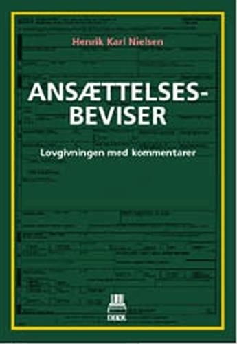 Image of   Ansættelsesbeviser - Henrik Karl Nielsen - Bog