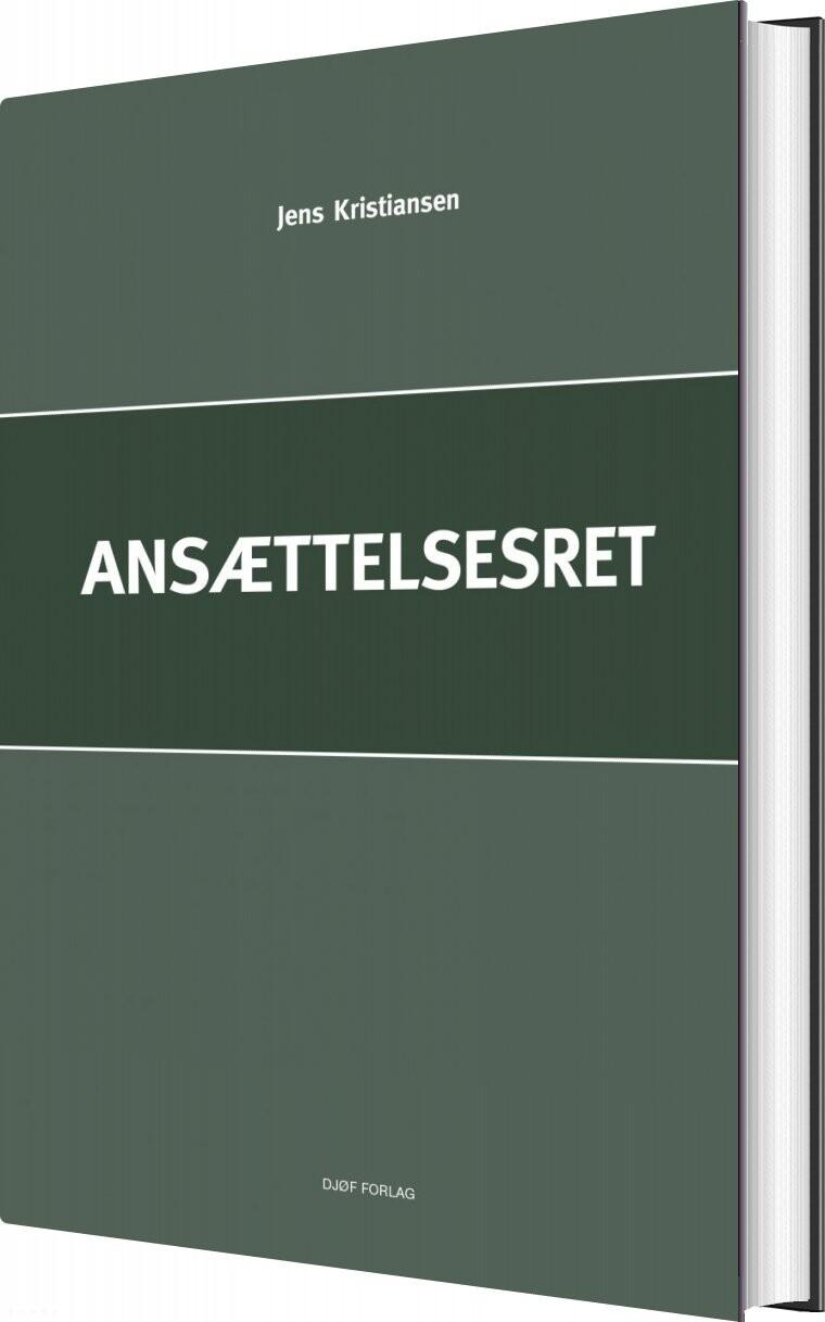 Ansættelsesret - Af Jens Kristiansen - Bog