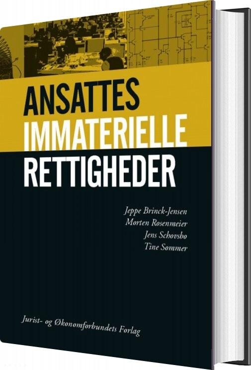 Billede af Ansattes Immaterielle Lrettigheder - Jeppe Brink-jensen - Bog