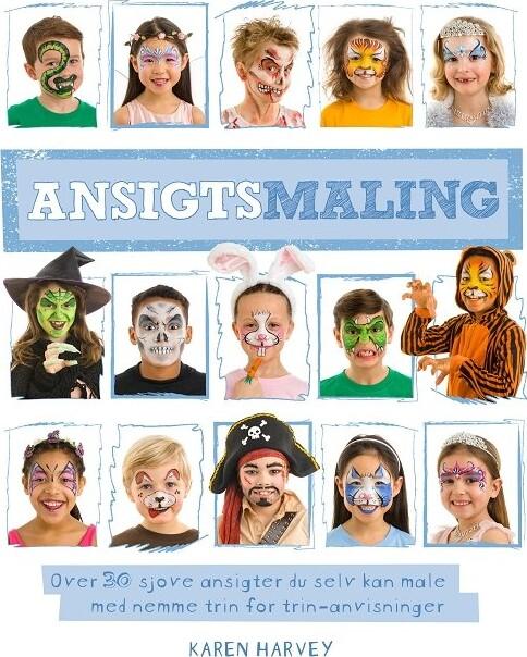 Image of   Ansigtsmaling - Karen Harvey - Bog