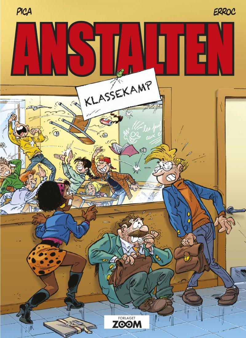 Image of   Anstalten: Klassekamp - Erroc - Tegneserie