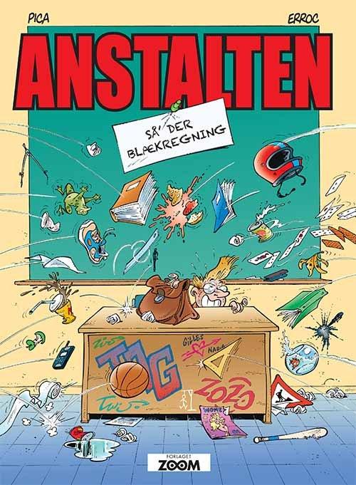 Image of   Anstalten: Så Der Blækregning - Erroc - Tegneserie