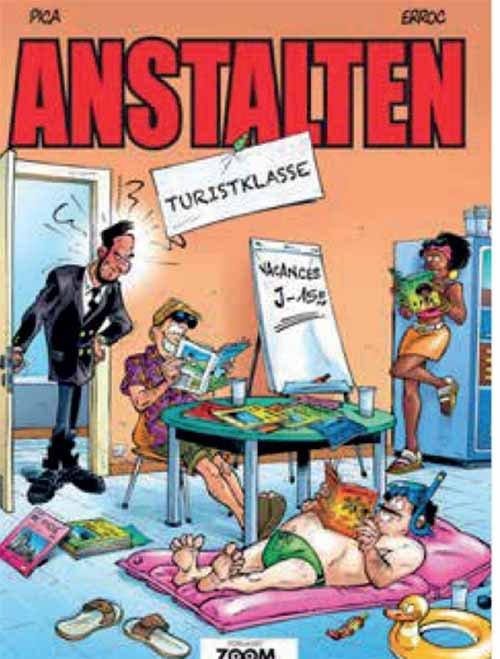 Image of   Anstalten: Turistklasse - Erroc - Tegneserie