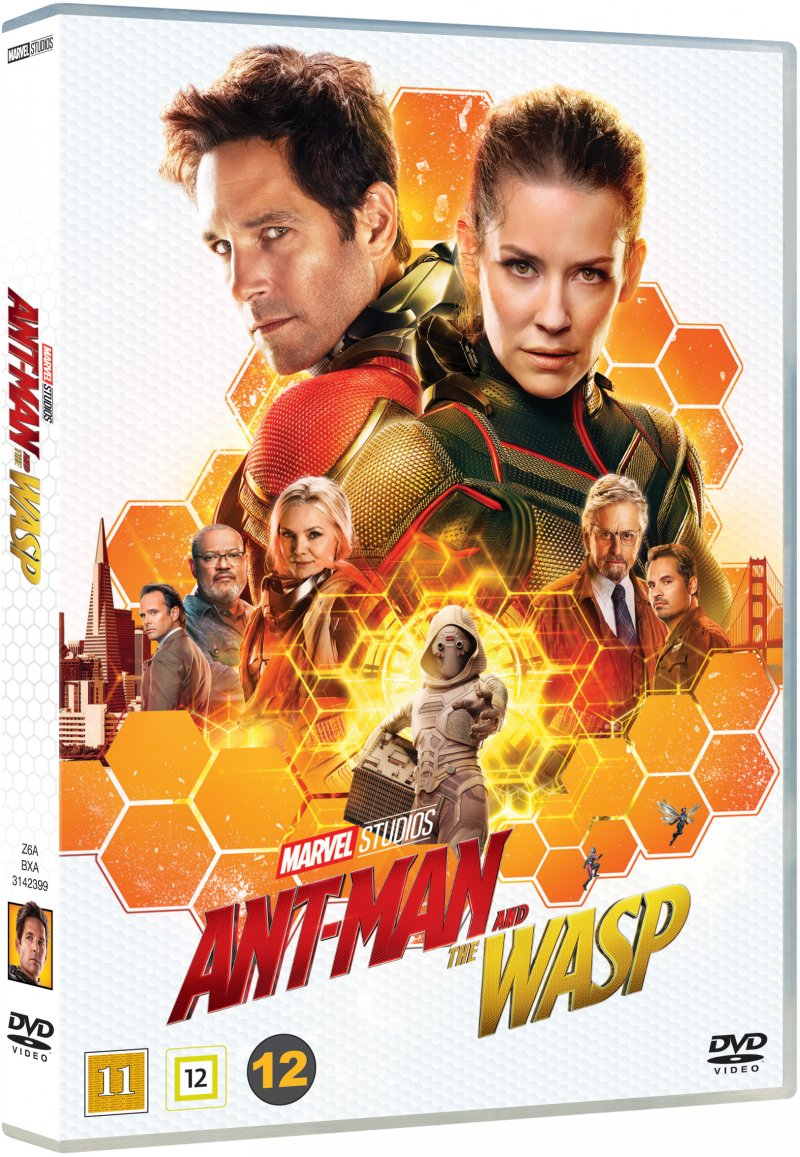 Image of   Ant-man And The Wasp - Marvel - DVD - Film