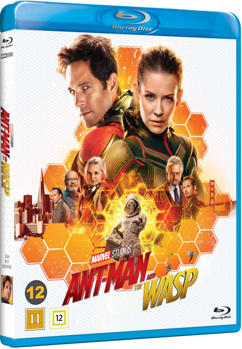 Image of   Ant-man And The Wasp - Marvel - Blu-Ray