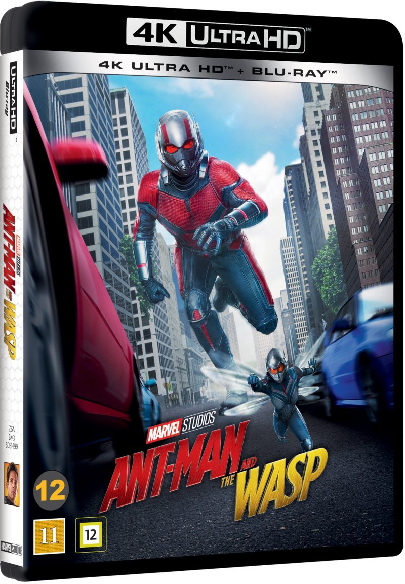 Image of   Ant Man And The Wasp - Marvel - 4K Blu-Ray