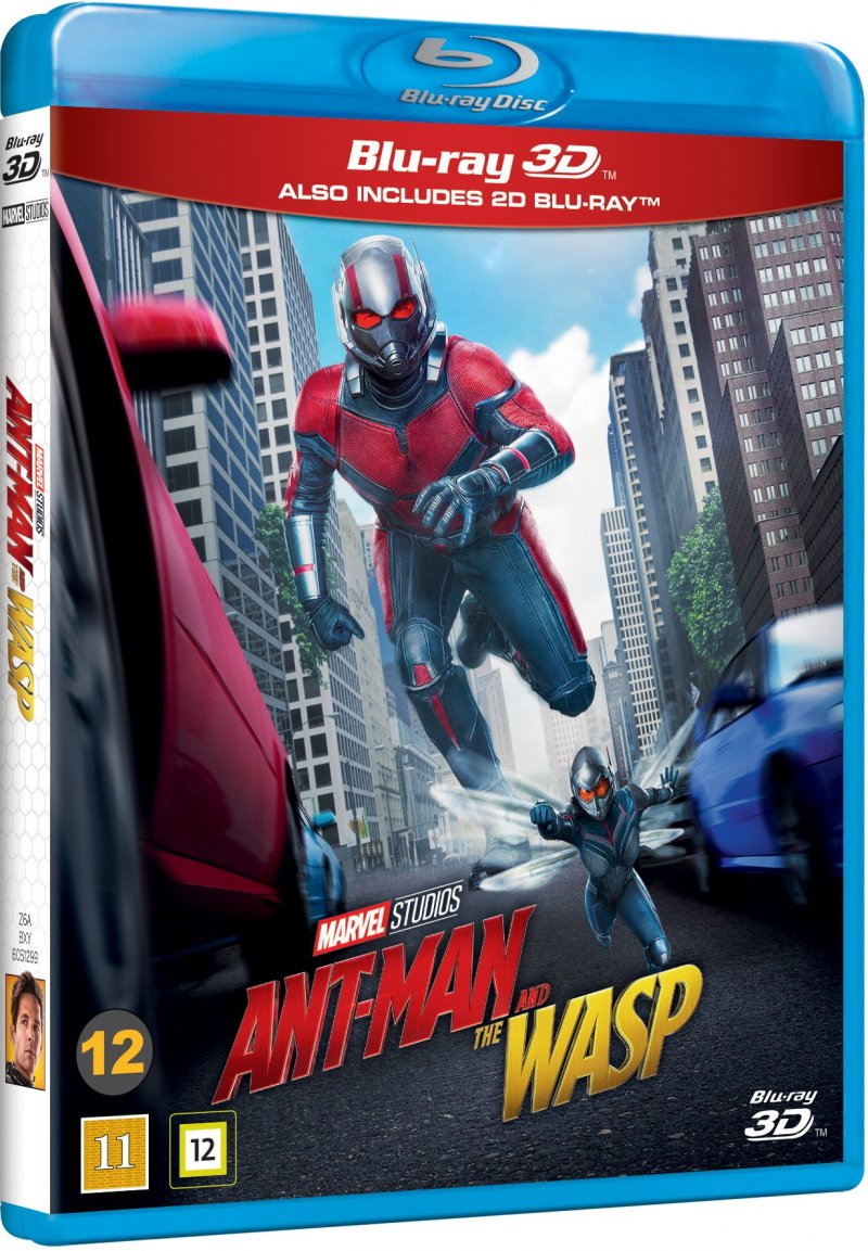 Image of   Ant-man And The Wasp - Marvel - 3D Blu-Ray