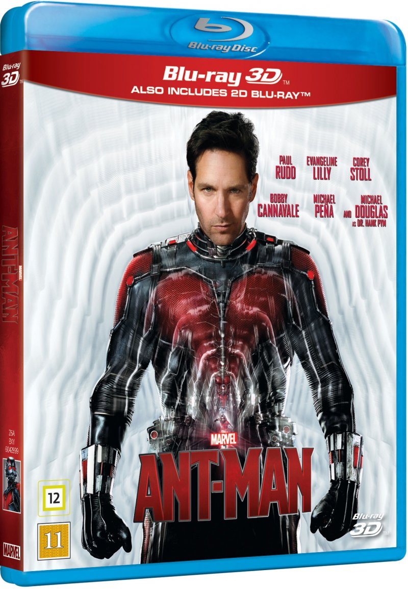 Image of   Ant-man - Marvel - 3D Blu-Ray