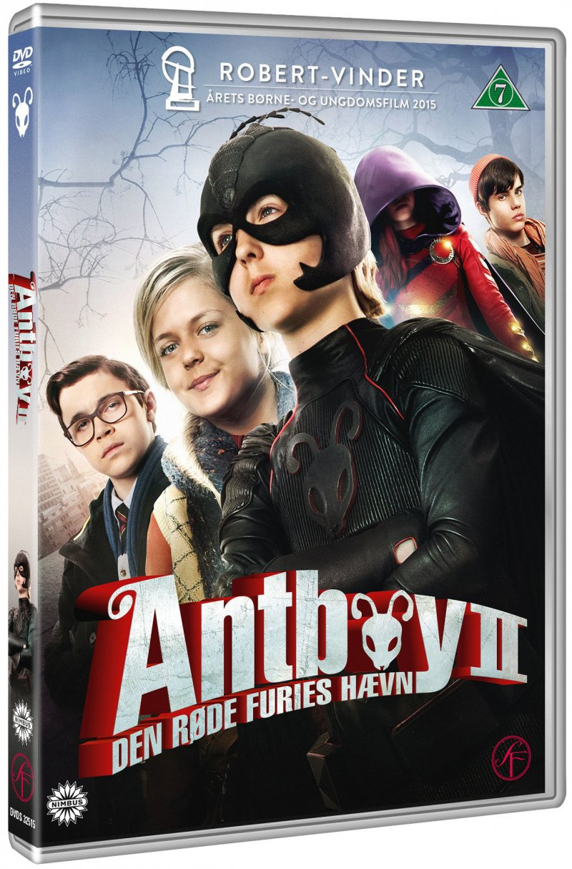 Image of   Antboy 2 - Den Røde Furies Hævn - DVD - Film