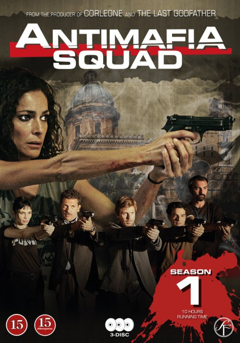 Image of   Antimafia Squad - Season 1 - DVD - Tv-serie