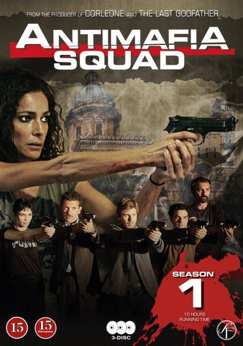 Image of   Antimafia Squad - Season 1 - DVD - Tv-serie