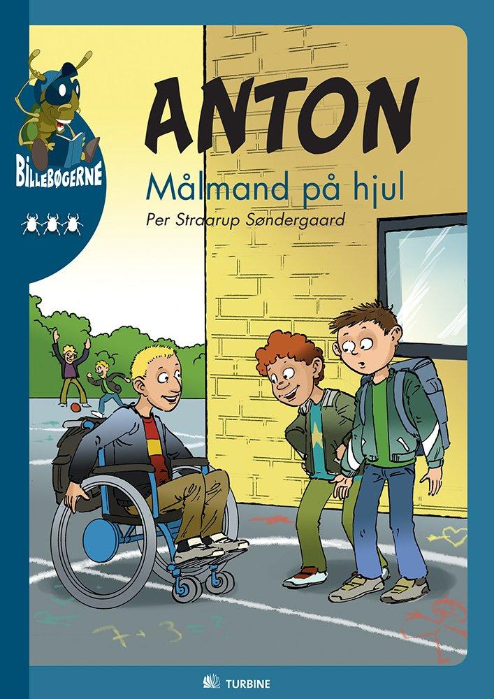 Billede af Anton - Målmand På Hjul - Per Straarup Søndergaard - Bog