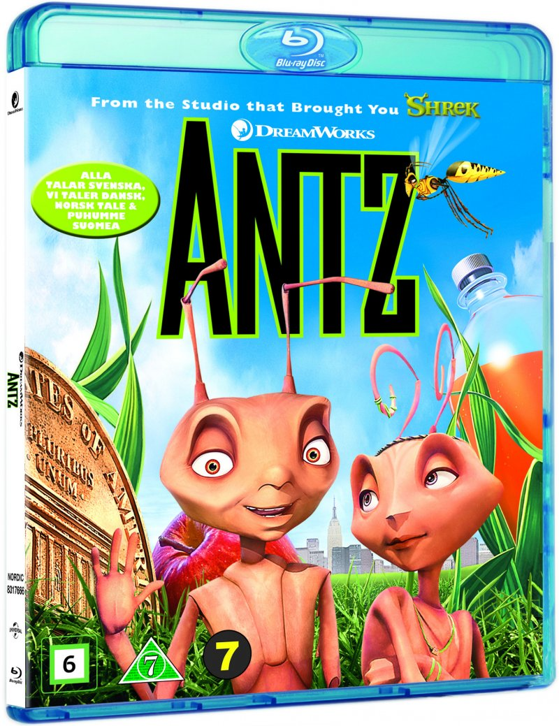 Image of   Antz - Blu-Ray