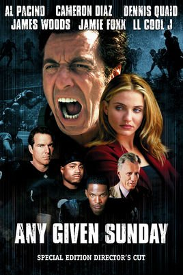 Image of   Any Given Sunday - Directors Cut - Blu-Ray