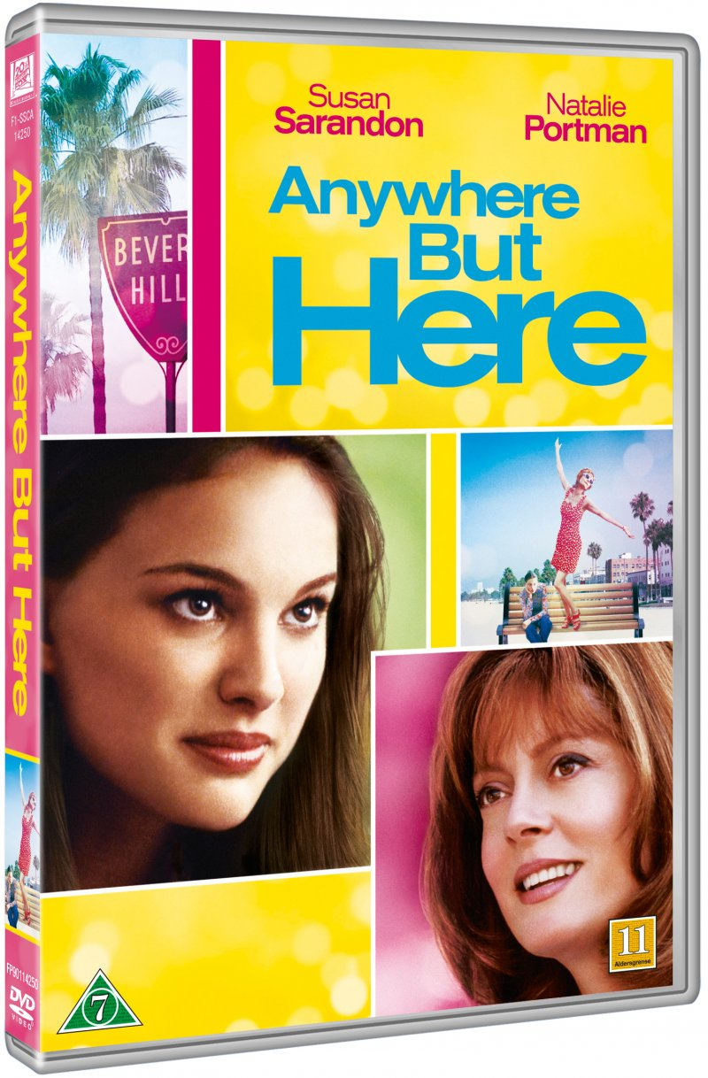 Image of   Anywhere But Here - DVD - Film