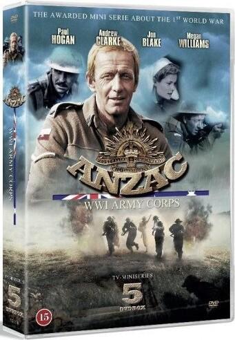 Image of   Anzac - World War Ii Army Corps - DVD - Film