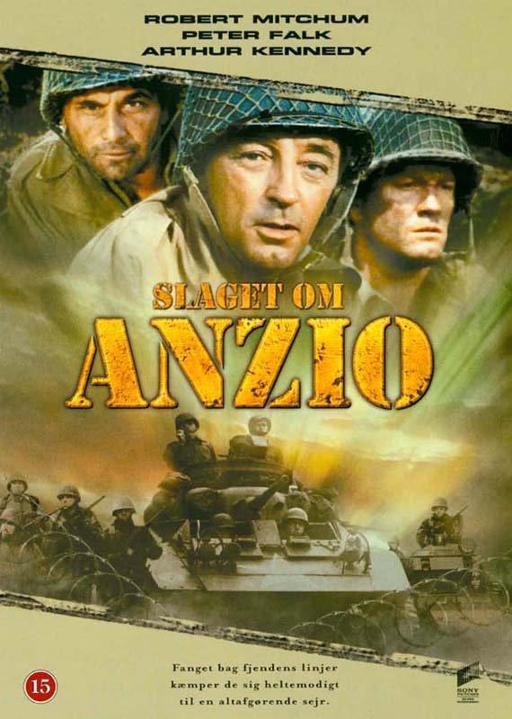 Image of   Slaget Om Anzio / Lo Sbarco Di Anzio - DVD - Film