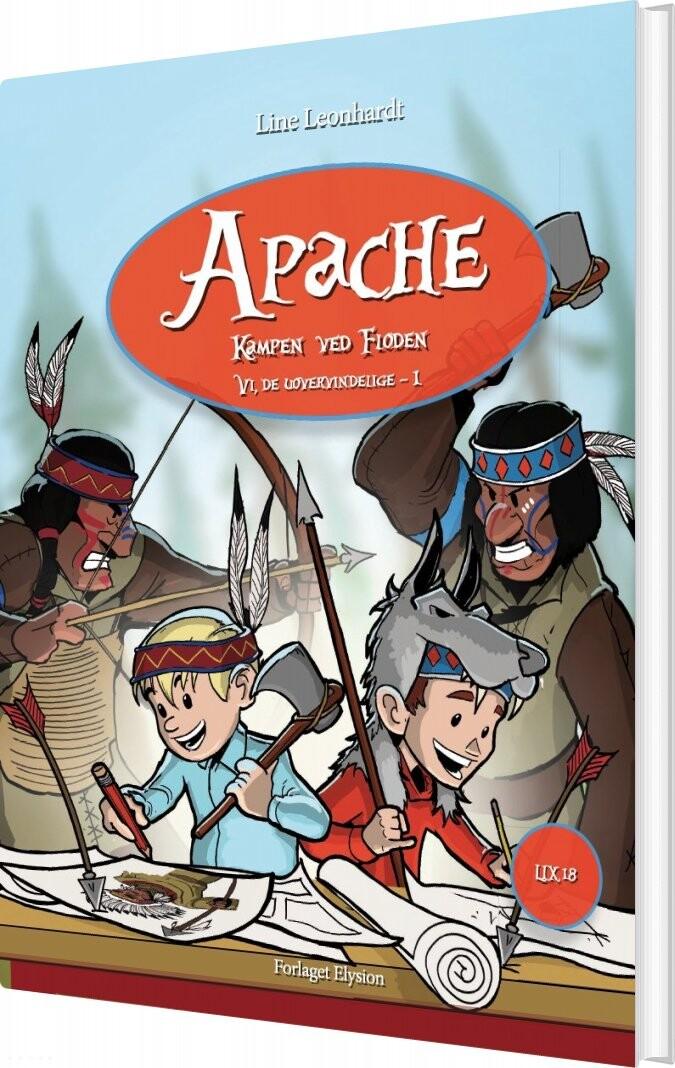 Apache - Line Leonhardt - Bog