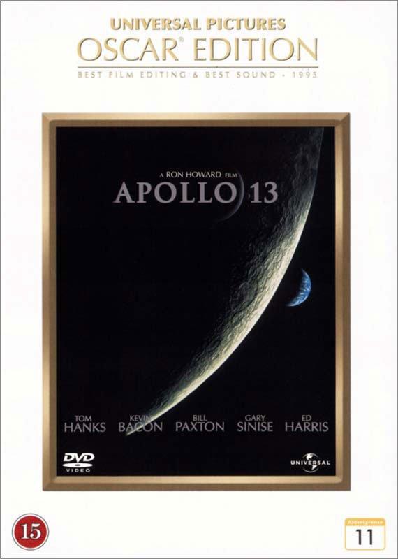 Image of   Apollo 13 - Oscar Edition - DVD - Film