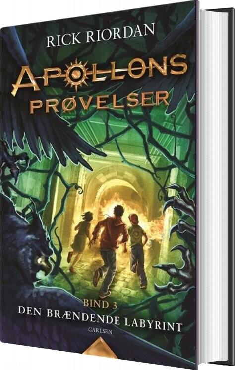 Image of   Apollons Prøvelser 3: Den Brændende Labyrint - Rick Riordan - Bog