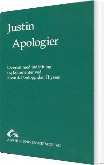 Image of   Apologier - Justinus Martyr - Bog