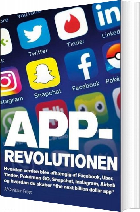 Image of   App-revolutionen - Christian Frost - Bog