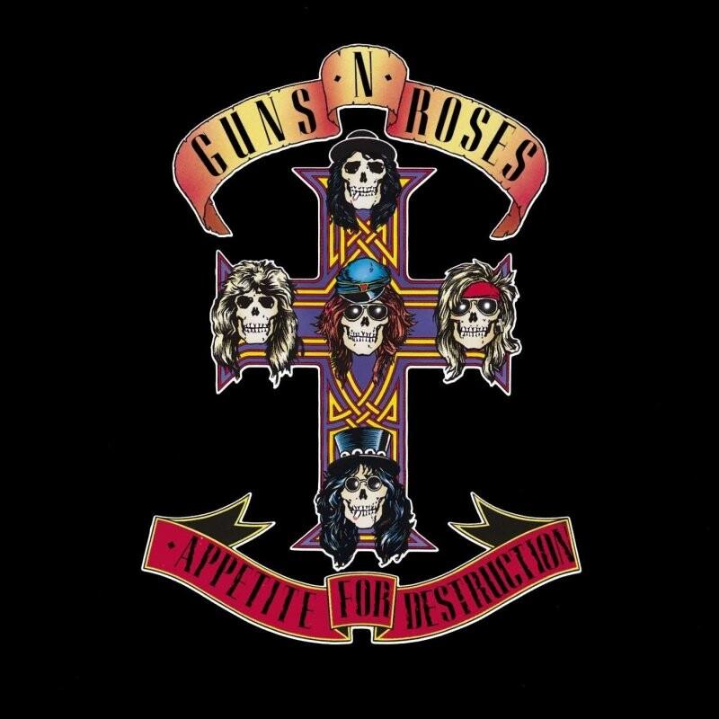 Image of   Guns N Roses - Appetite For Destruction - Vinyl / LP