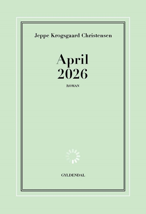 Image of   April 2026 - Jeppe Krogsgaard Christensen - Bog