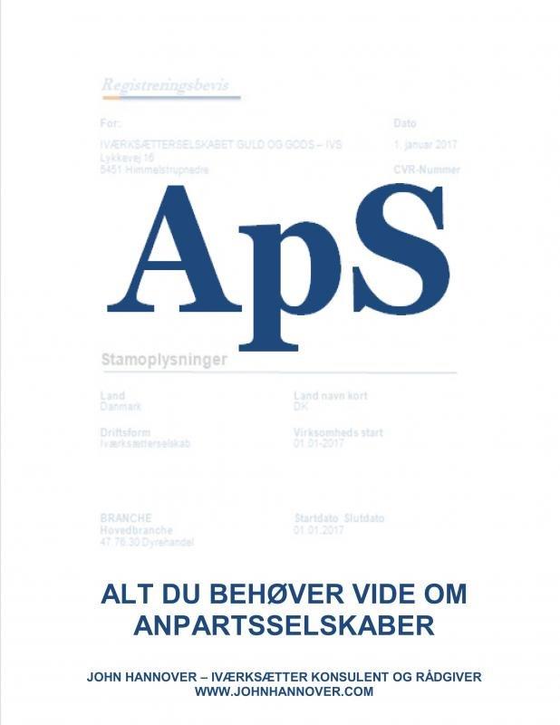 Image of   Aps - John Hannover - Bog
