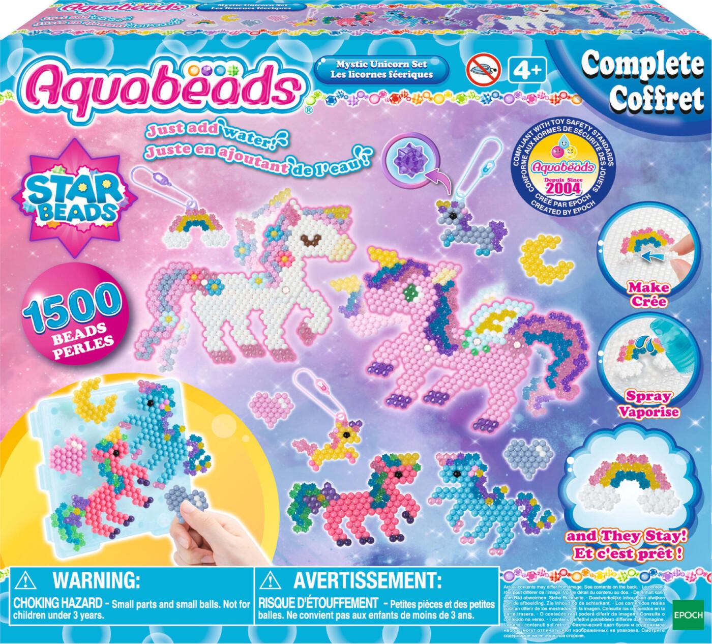 Image of   Aquabeads Perler - Aqua Beads Rainbow Pen Set / Regnbue Station