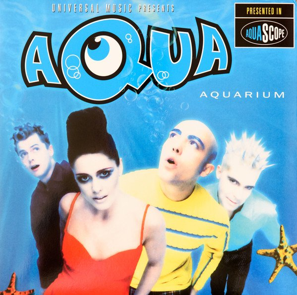 Image of   Aqua - Aquarium - CD