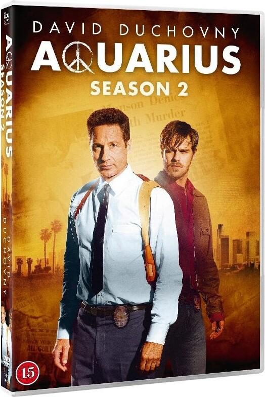 Image of   Aquarius - Sæson 2 - DVD - Tv-serie
