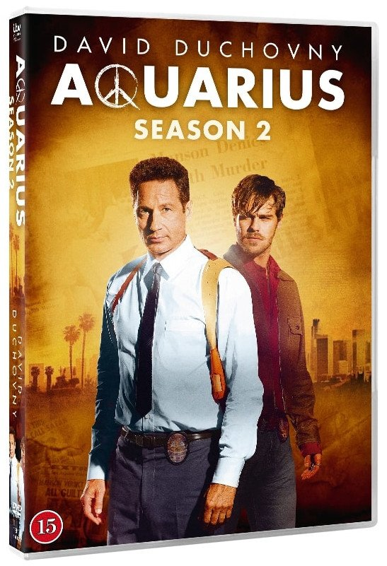 Image of   Aquarius - Sæson 2 - DVD - Tv-serie