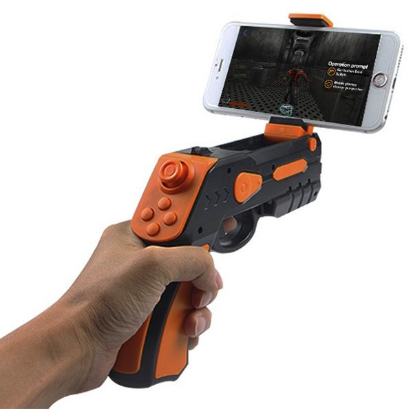 Image of   Ar Gun - Bluetooth Pistol Til Smartphone Spil - Ios Og Android