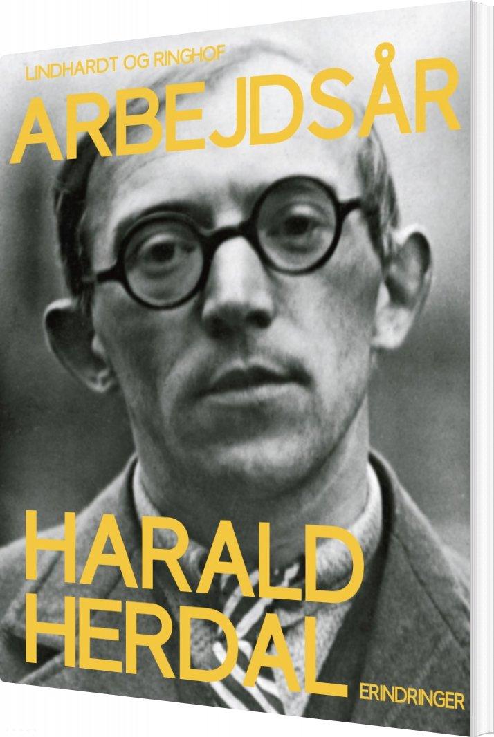 """Image of   Arbejdsår - 4. Bind I Serien """"barndom"""" - Harald Herdal - Bog"""