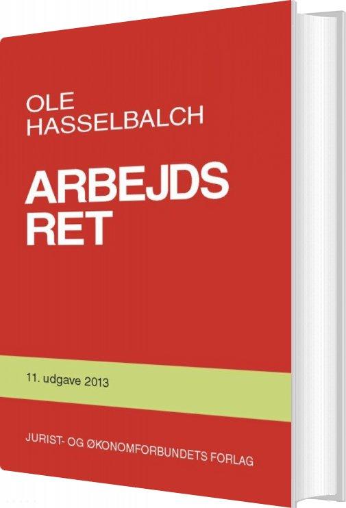 Billede af Arbejdsret - Ole Hasselbalch - Bog
