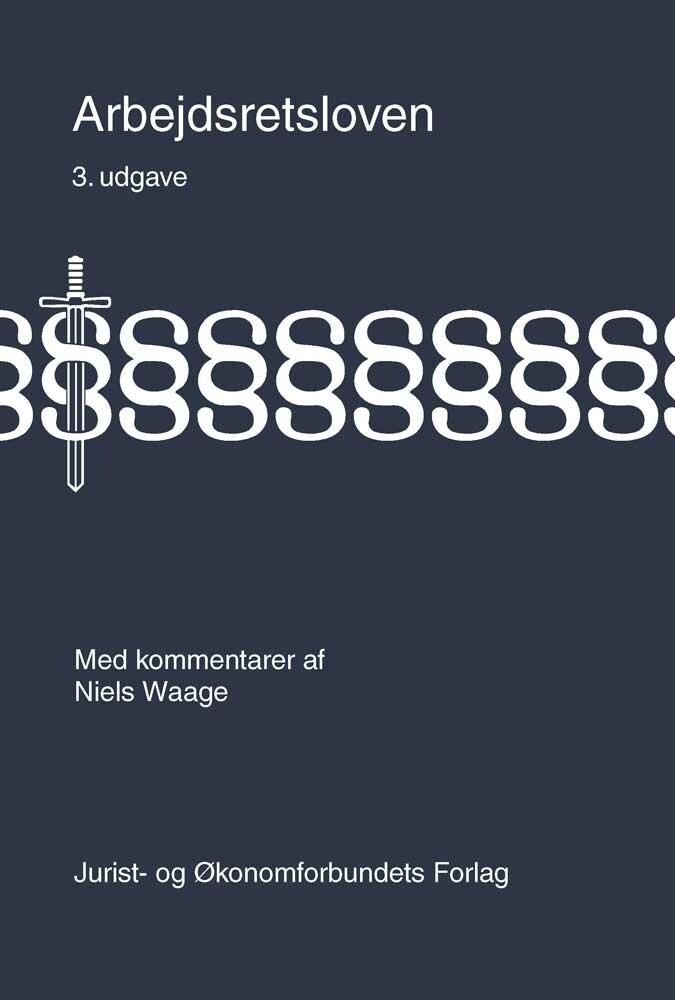 Image of   Arbejdsretsloven - Niels Waage - Bog