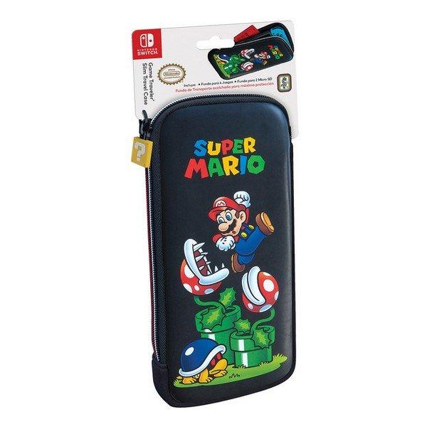 Image of   Ardistel - Nintendo Switch Etui Og Skærmbeskytter - Super Mario