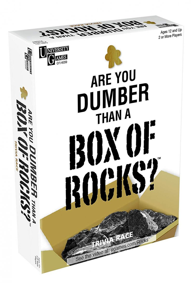 Image of   Are You Dumber Than A Box Of Rocks?
