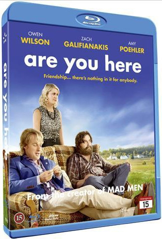 Image of   Are You Here - Blu-Ray