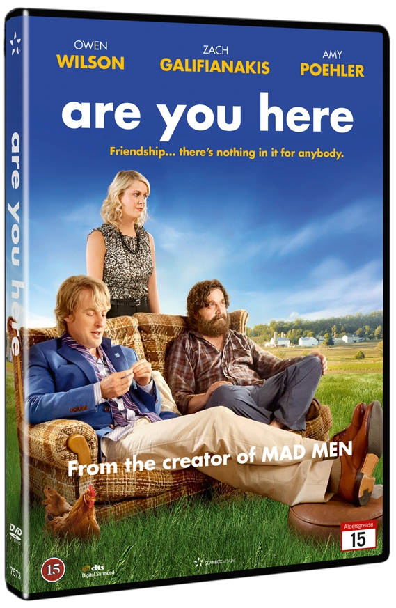 Image of   Are You Here - DVD - Film