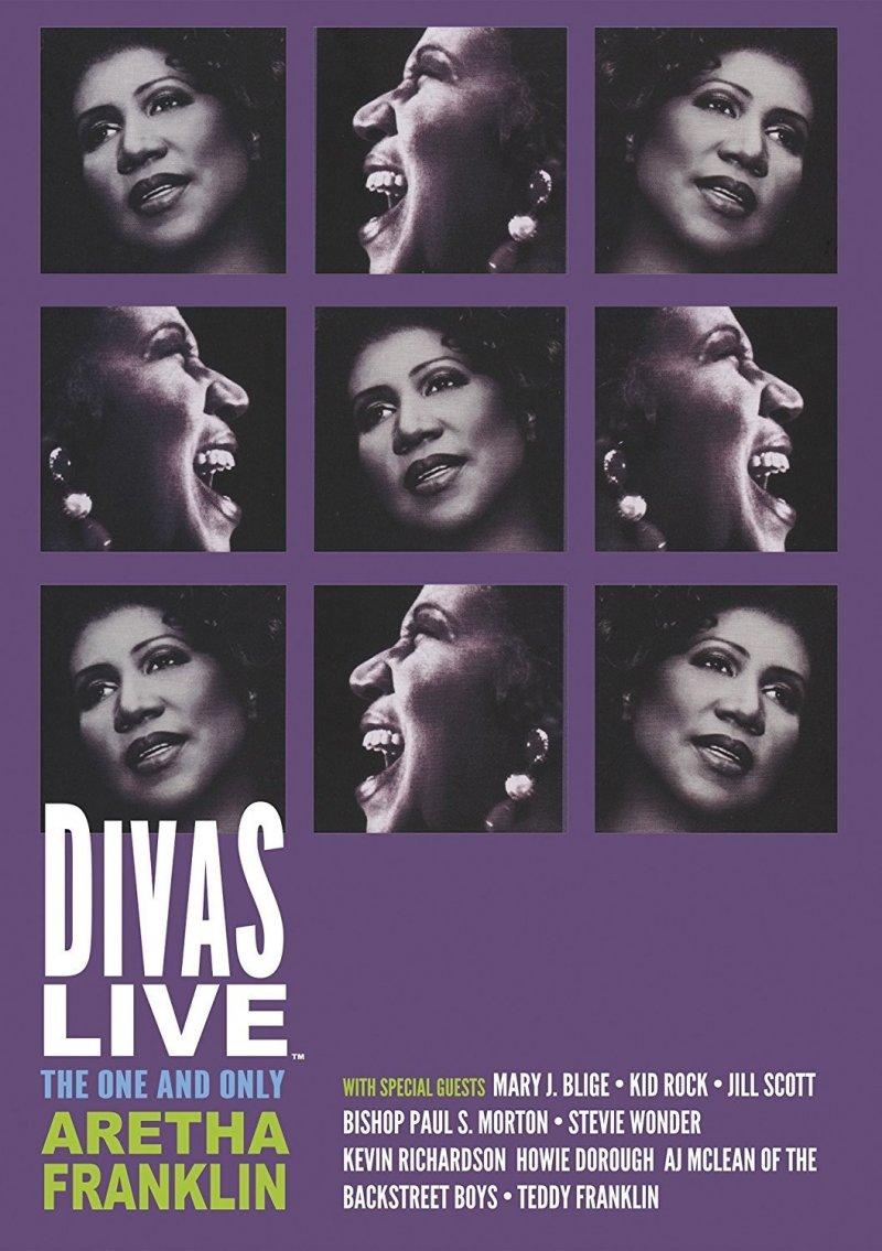 Billede af Aretha Franklin: Divas Live - DVD - Film