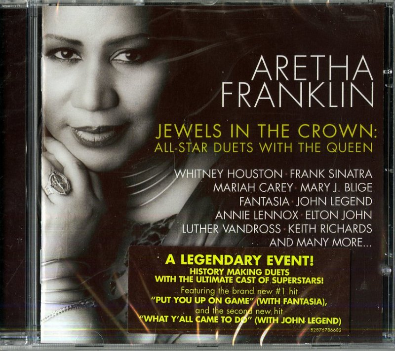 Image of   Aretha Franklin - Jewels In The Crown - Duets - CD