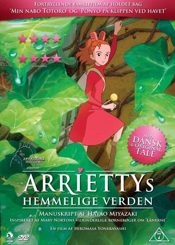 Billede af Ariettys Hemmelige Verden - DVD - Film