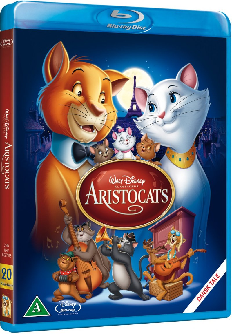 Image of   Aristocats - Disney - Blu-Ray