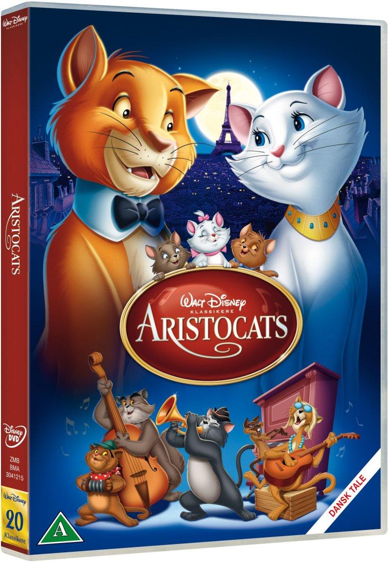 Image of   Aristocats - Disney - DVD - Film