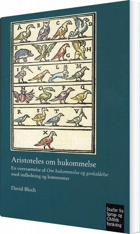 Image of   Aristoteles Om Hukommelse - David Bloch - Bog
